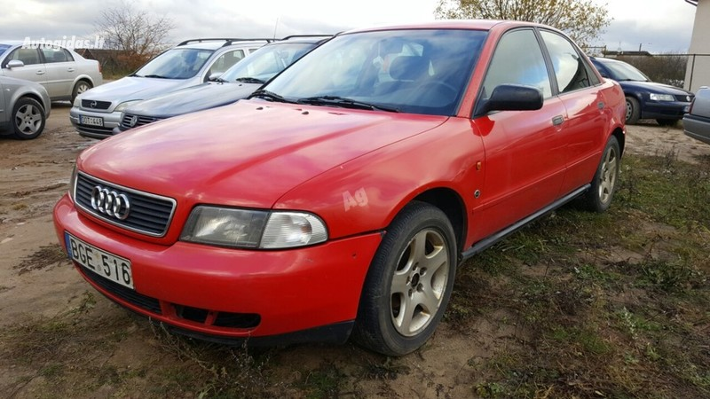Audi A4 B5 1.8 92 kw geras 1997 m. dalys