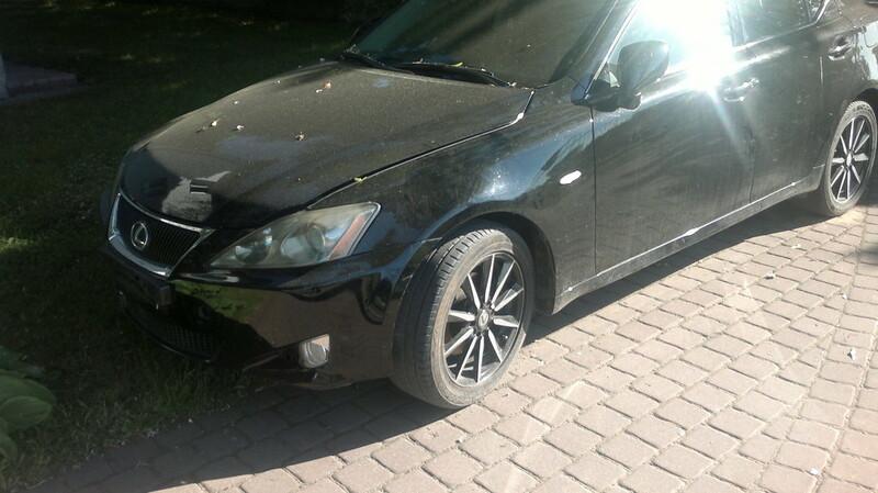 Lexus Serija Is 2007 m dalys