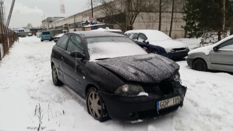 Seat Ibiza III 2003 m dalys