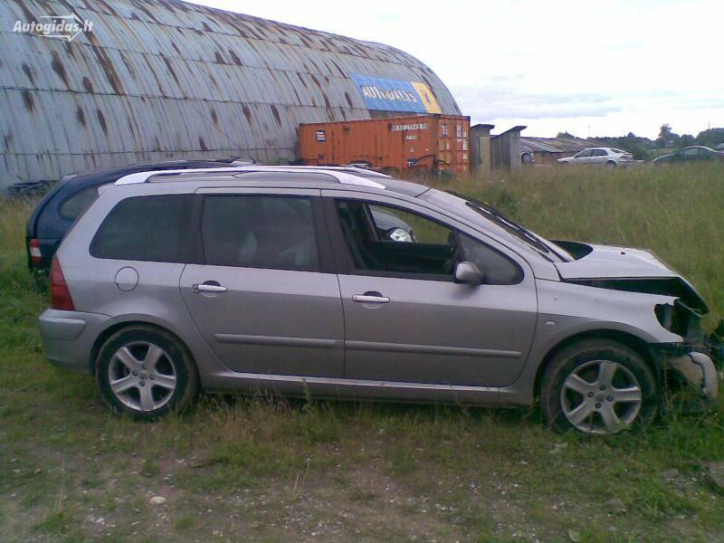 Peugeot Kitas 2003 m dalys