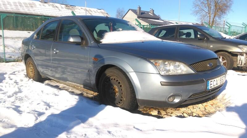 Ford Mondeo MK3 2002 m. dalys