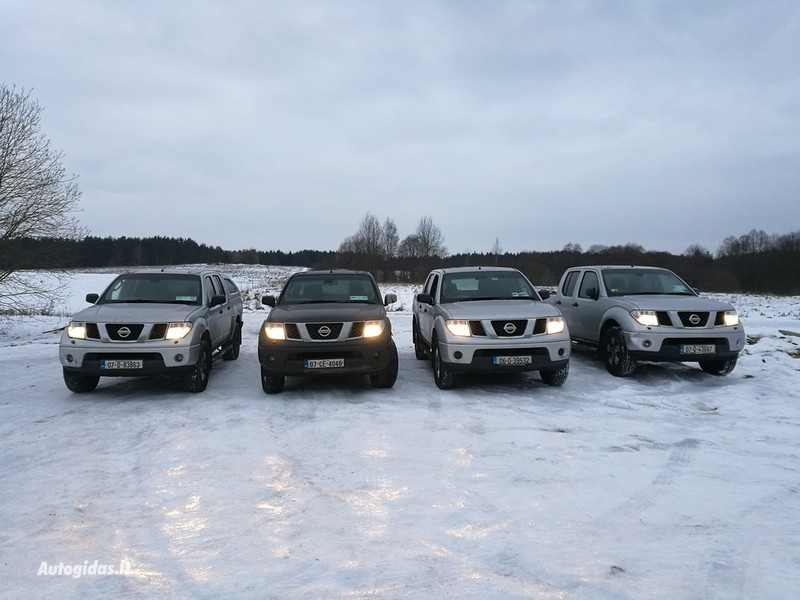 Nissan Navara 2007 m. dalys