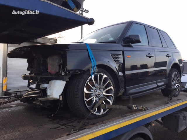 Land-Rover Range Rover Sport I 2007 m dalys