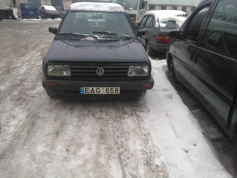 Volkswagen Jetta A2 1.6 59kw tdi 1991 m. dalys