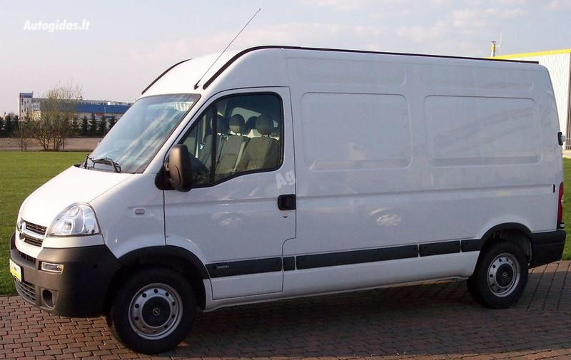 Opel Movano II 2004 y. parts