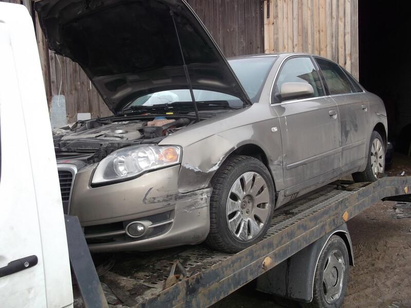 Audi A4 B7 BKN Quatro 2007 m. dalys