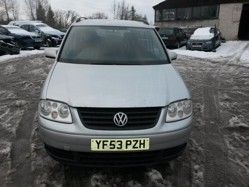 Volkswagen Touran I 2003 m. dalys