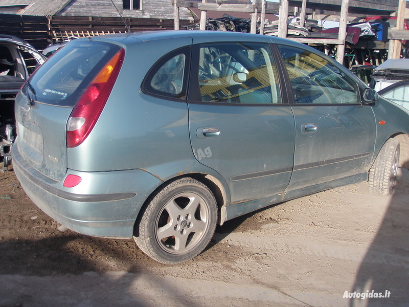 Nissan Almera Tino 2003 m dalys