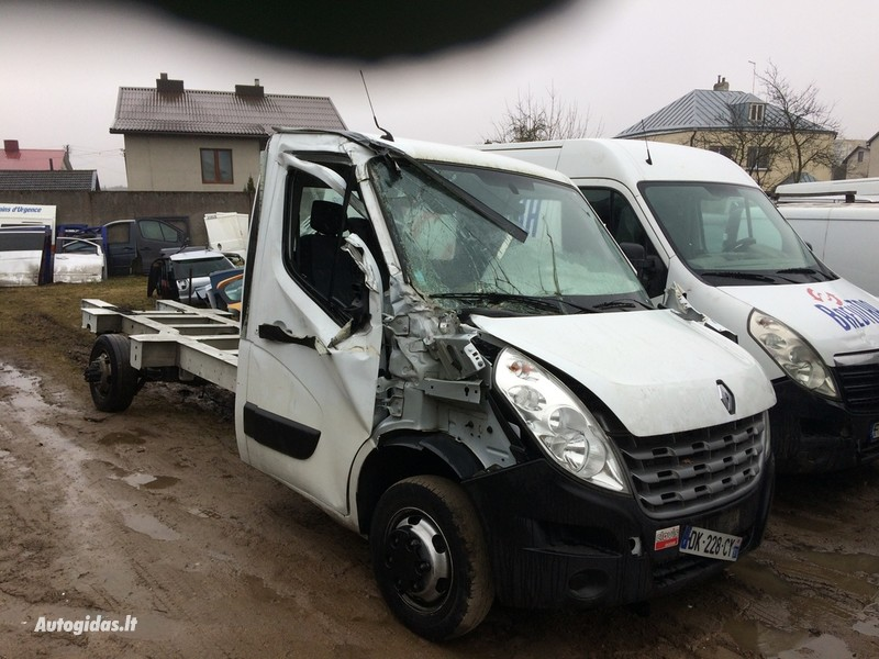 Renault Master IV 2014 y. parts