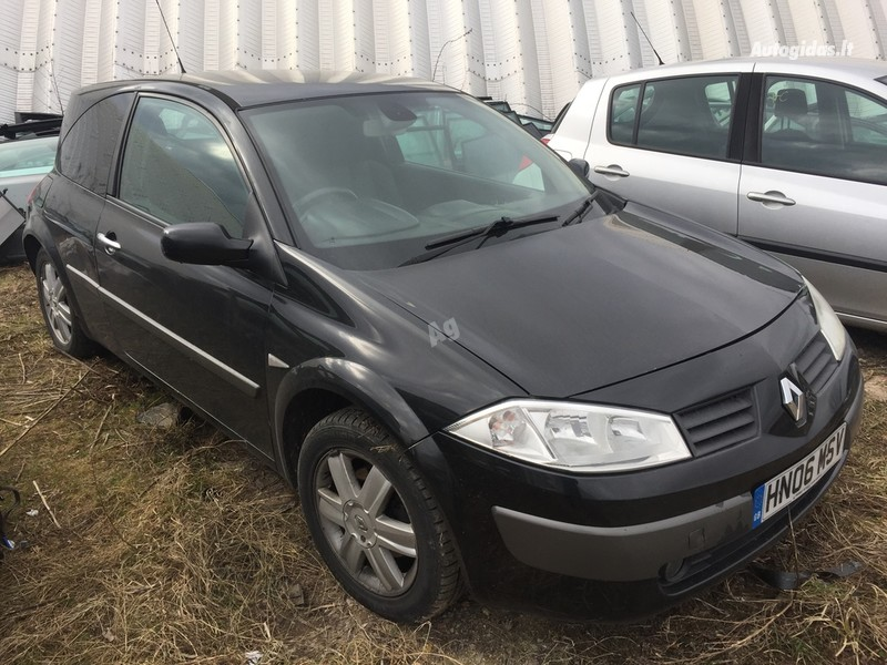 Renault Megane II 2006 m dalys