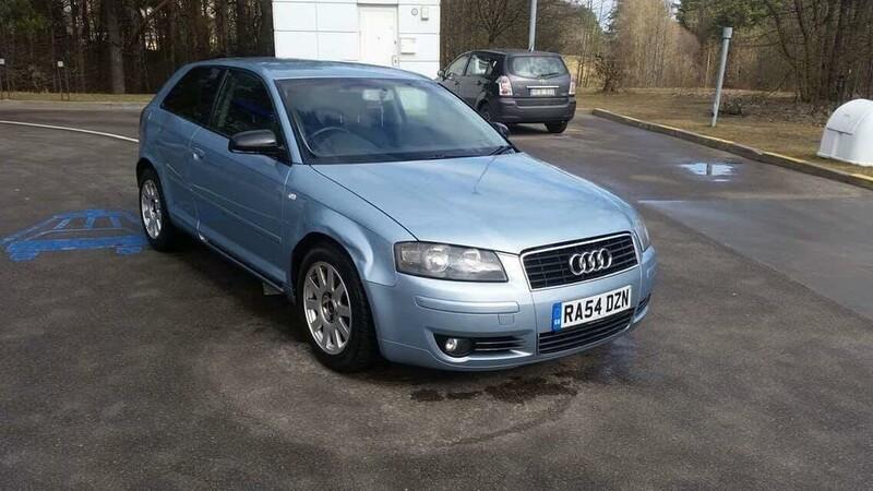 Audi A3 8P 2.0 efsi 2003 m. dalys