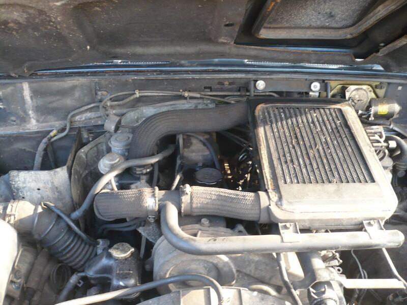 Hyundai Galloper 1999 m dalys