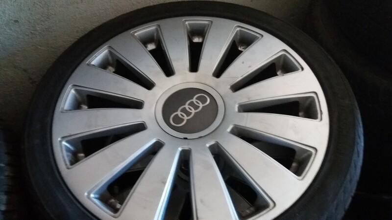 Audi A8 R20 lengvojo lydinio ratlankiai
