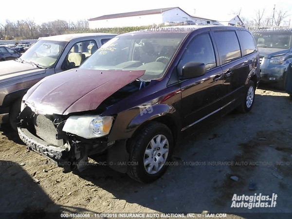 Chrysler Town & Country II 2008 y. parts