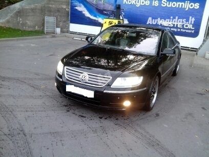 Volkswagen Phaeton 2006 m dalys