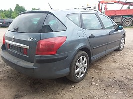 Peugeot 407 2006 m. dalys