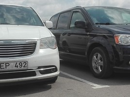 Chrysler Grand Voyager 2017 m nuoma