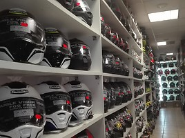 Caberg, Shoei, Airoh, Icon, Agv helmets