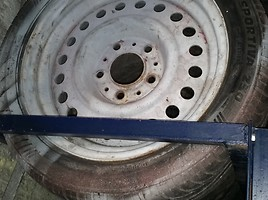BMW E36 Steel stamped R15