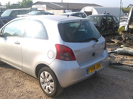Toyota Yaris II 2008 y. parts