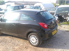 Opel Corsa D 2008 m. dalys