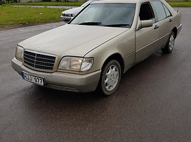 Mercedes-Benz S 320 W126 Banginis Седан
