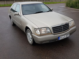 Mercedes-Benz S 320 W126 Banginis 1993 y. parts