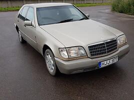 Mercedes-Benz S 500 Banginis 1993 m dalys