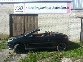 peugeot 206 cc CABRIO Kabrioletas 2006