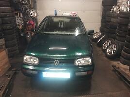 Volkswagen Golf III Benzinas ir dyzelis 1996