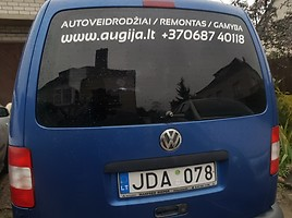 Volkswagen Caddy III 2011 m dalys