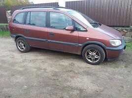 Opel Zafira A 2001 m. dalys