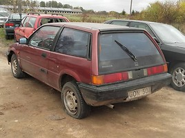 Honda Civic III 1985 m dalys