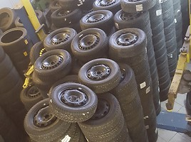 VW, AUDI, SKODA,SEAT Plieniniai štampuoti R15
