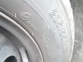 Volkswagen Touran R16 steel stamped  rims