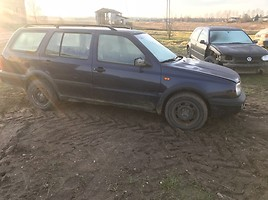Volkswagen Golf III 1995 y. parts