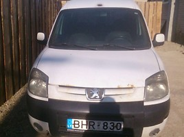 Peugeot Partner II (2008- )  Commercial auto (with box)