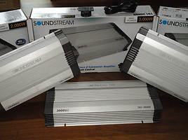Soundstream tn4.1200d ir kiti