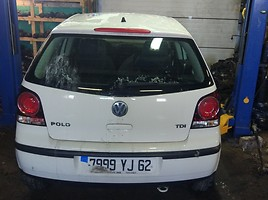 Volkswagen Polo IV FL 2009 m. dalys