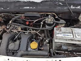 Fiat Doblo I 46 kW 2004 m dalys