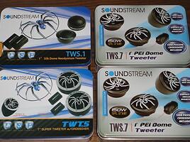 Soundstream tws.7 ir kiti