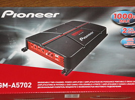 Audio Amplifier Pioneer GM-A3702 ir kiti!