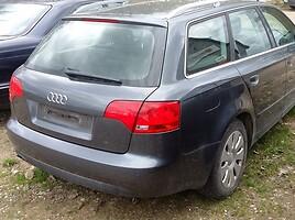 Audi A4 B7 2006 m dalys