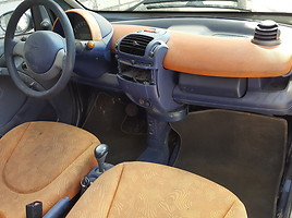 Smart Fortwo I 40 kW 1999 m dalys
