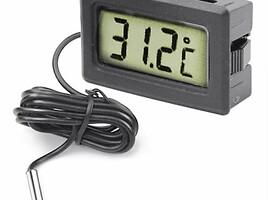 auto laikrodukai ir termometrai