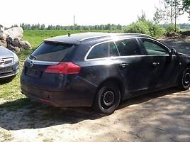 Opel Insignia 2011 m dalys
