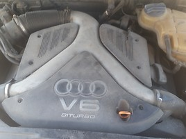 Audi A6 C5 bi turbo 2002 m. dalys