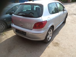 Peugeot 307 I 2004 m. dalys