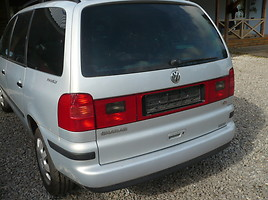 Volkswagen Sharan I 2002 m dalys