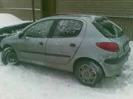 peugeot 206 Hečbekas 2001